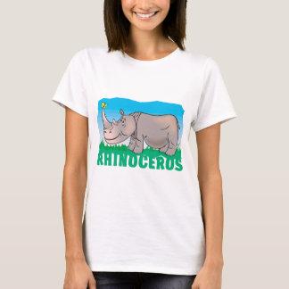 Kid Friendly Rhinoceros T-Shirt