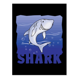 Kid Friendly Shark Postcard