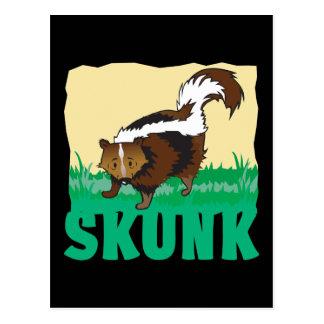 Kid Friendly Skunk Postcard