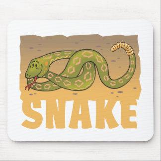 Kid Friendly Snake Mousepad