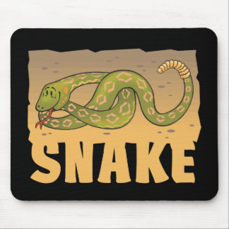 Kid Friendly Snake Mousepads