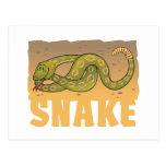Kid Friendly Snake Postcard