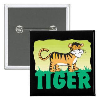 Kid Friendly Tiger Button