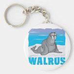 Kid Friendly Walrus Keychains