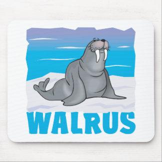 Kid Friendly Walrus Mouse Pad