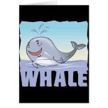 Kid Friendly Whale Greeting Cards