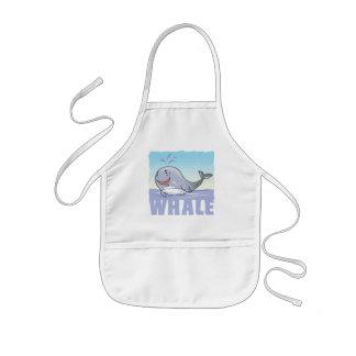 Kid Friendly Whale Kids' Apron