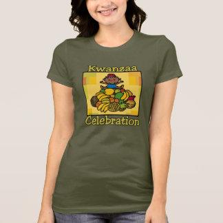Kid & Fruit Kwanzaa Celebration T-Shirt