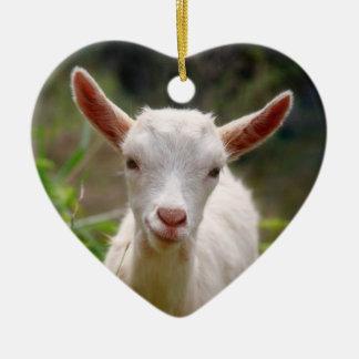 Kid Goat Ceramic Ornament