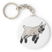 Kid Goat Keychain