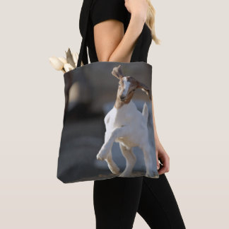 Kid Goat Playing Tote Bag