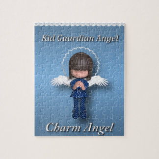 Kid Guardia Angel Jigsaw Puzzle