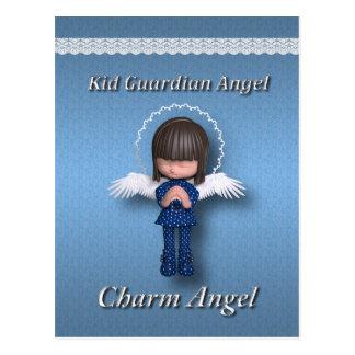 Kid Guardia Angel Postcard
