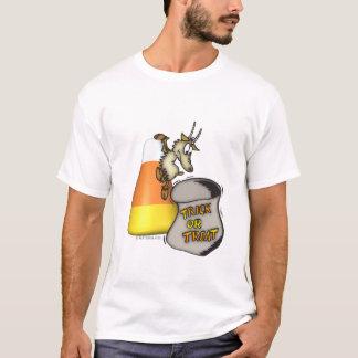 Kid Halloween Trick or Treat Goat T-Shirt