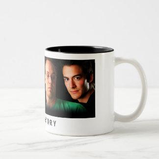 Kid History Cast Two-Tone Coffee Mug