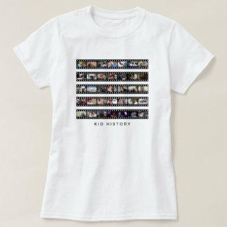 Kid History Filmstrips Tshirt