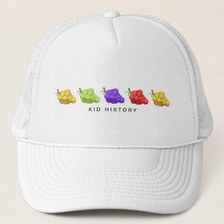 Kid History Grapes Trucker Hat
