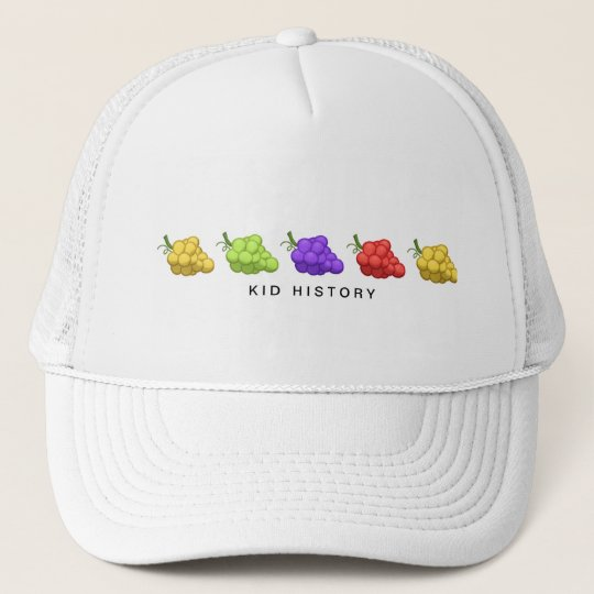 Kid History Grapes Trucker Hat