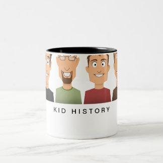 Kid History Two-Tone Coffee Mug