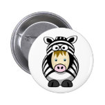 Kid in a Zebra Suit Pins