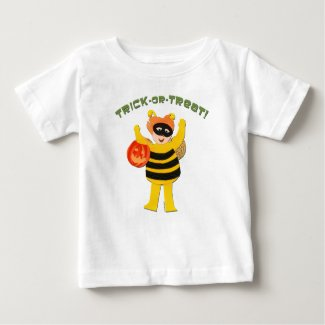 Kid in Costume Trick-or-Treat Tshirts