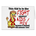 Kid In The Fight Against AIDS Greeting Cards