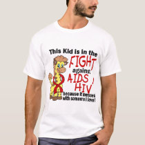 Kid In The Fight Against AIDS T-Shirt