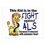 Kid In The Fight Against ALS Post Cards