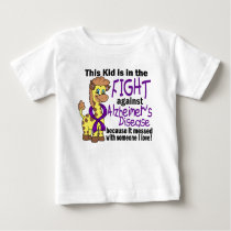 Kid In The Fight Against Alzheimer's Disease Baby T-Shirt
