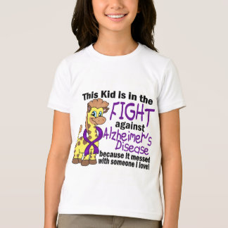 Kid In The Fight Against Alzheimer's Disease T-Shirt
