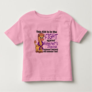 Kid In The Fight Against Alzheimer's Disease Toddler T-shirt