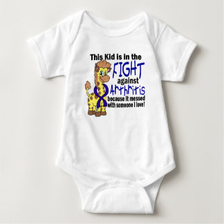 Kid In The Fight Against Arthritis Baby Bodysuit