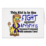 Kid In The Fight Against Arthritis Cards