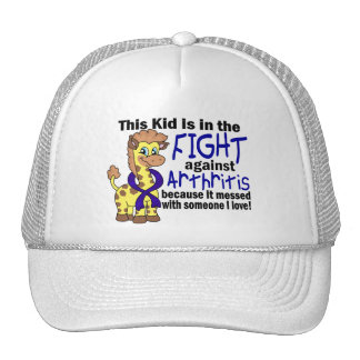 Kid In The Fight Against Arthritis Hat