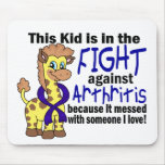 Kid In The Fight Against Arthritis Mouse Pad