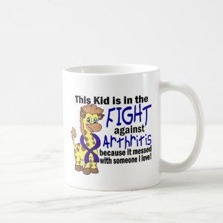 Kid In The Fight Against Arthritis Mugs