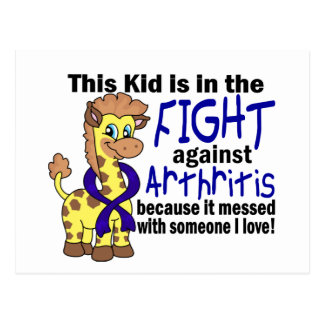 Kid In The Fight Against Arthritis Postcard