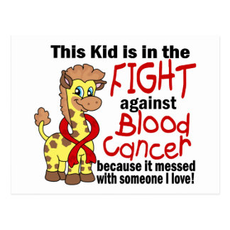 Kid In The Fight Against Blood Cancer Postcard