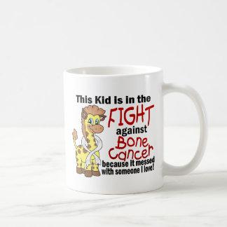 Kid In The Fight Against Bone Cancer Classic White Coffee Mug