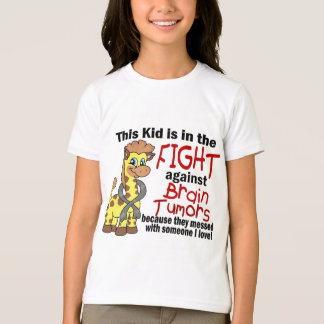 Kid In The Fight Against Brain Tumors T-Shirt
