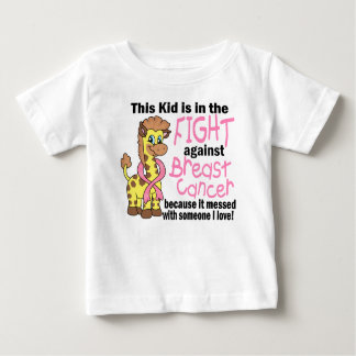 Kid In The Fight Against Breast Cancer Baby T-Shirt