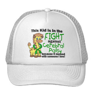 Kid In The Fight Against Cerebral Palsy Trucker Hat