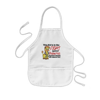 Kid In The Fight Against Diabetes Aprons