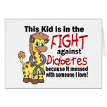 Kid In The Fight Against Diabetes Cards