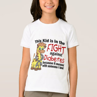 Kid In The Fight Against Diabetes T-Shirt