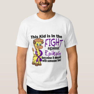 Kid In The Fight Against Epilepsy T Shirt