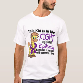Kid In The Fight Against Epilepsy T-Shirt