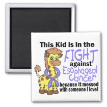 Kid In The Fight Against Esophageal Cancer Magnet