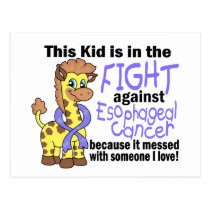 Kid In The Fight Against Esophageal Cancer Postcard