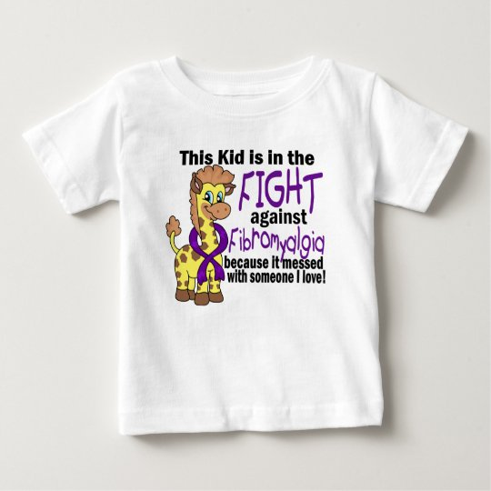 Kid In The Fight Against Fibromyalgia Baby T-Shirt